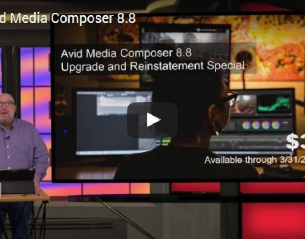 Videoguys' Video Brief on Avid Media Composer v.8.8 1