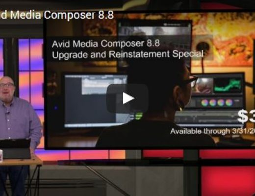 Videoguys' Video Brief on Avid Media Composer v.8.8 2