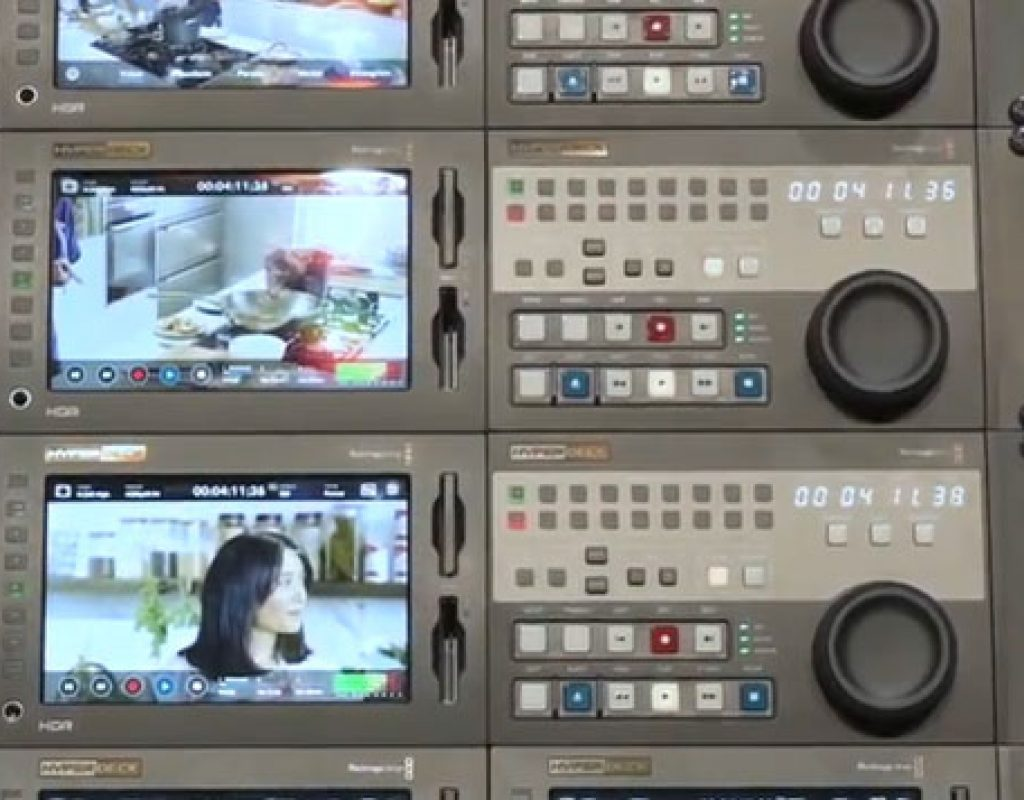 Blackmagic Design ATEM Constellation 8k and Hyperdeck 8k