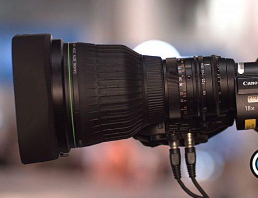Canon UHDgc CJ18eX28B B lens: 1000mm for broadcast
