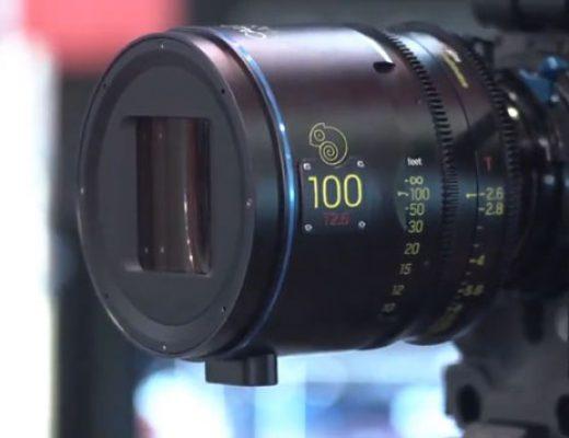 The Caldwell Chameleon Anamorphic lenses