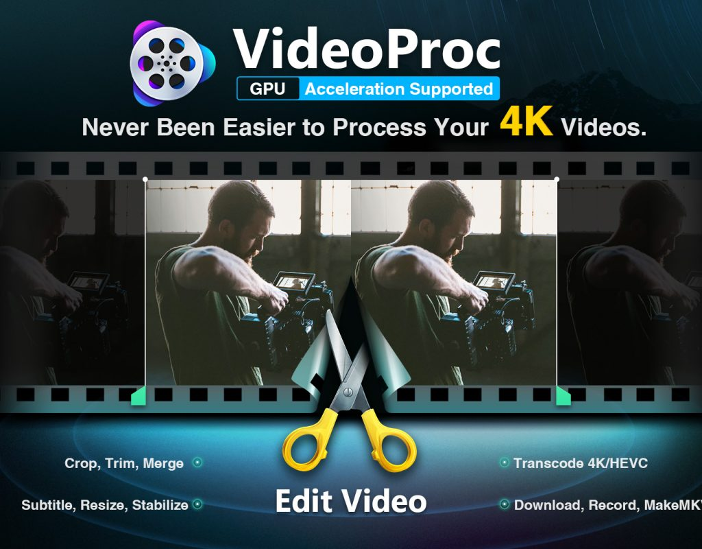 VideoProc Provides Creators with One-Stop Video Processing Software 7