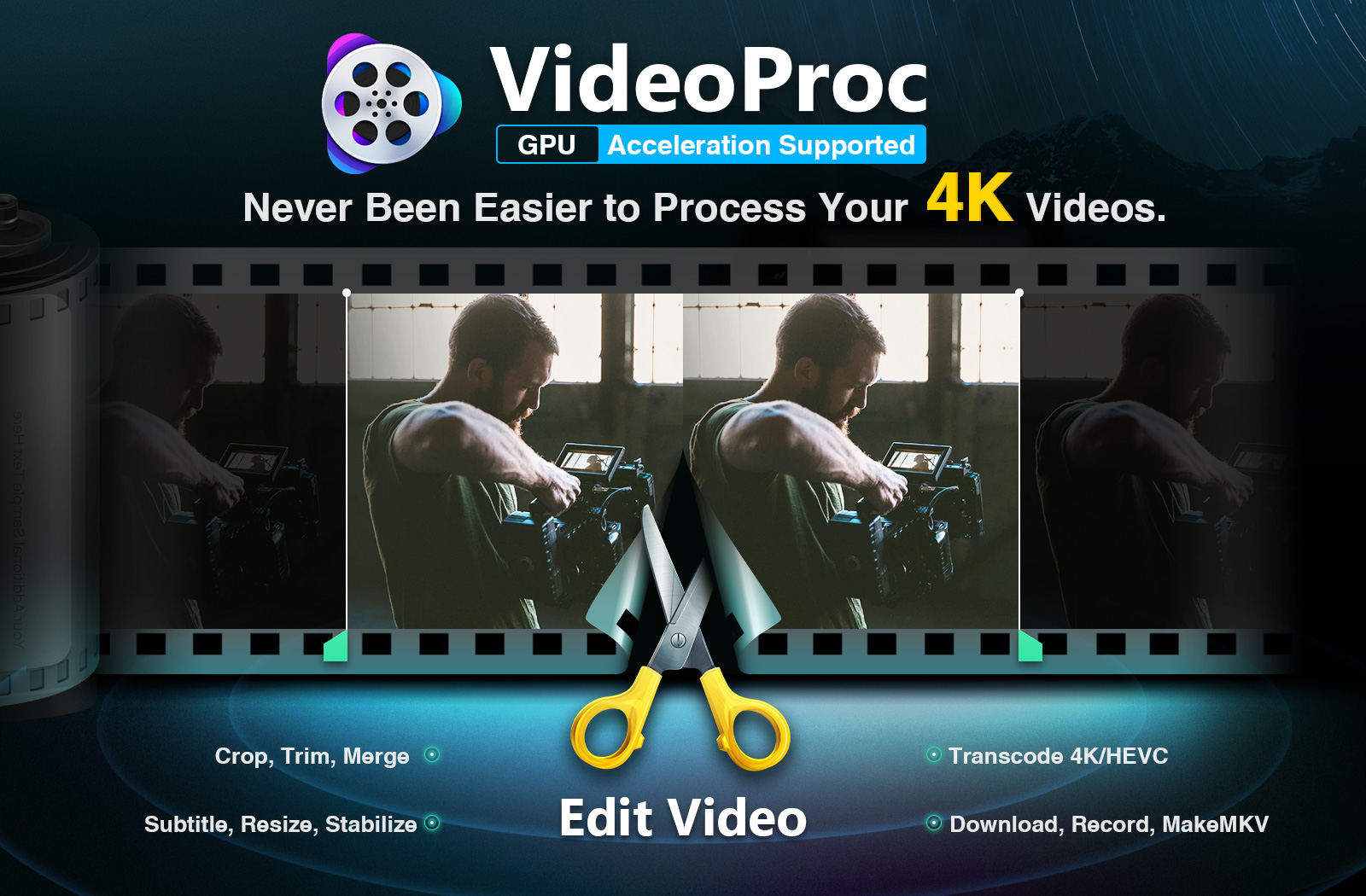 VideoProc Provides Creators with One-Stop Video Processing Software
