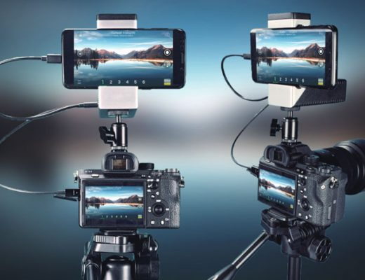 VidiMo: live video production solution with a smartphone and camcorder