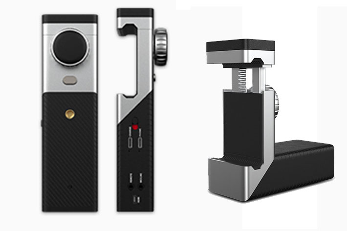 VidiMo: live video production solution with a smartphone and a video camera 2