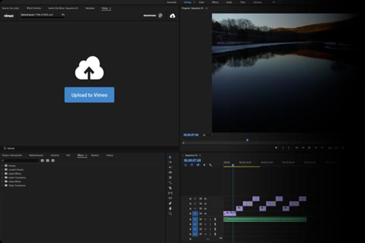 Vimeo for macOS, and an app for Windows