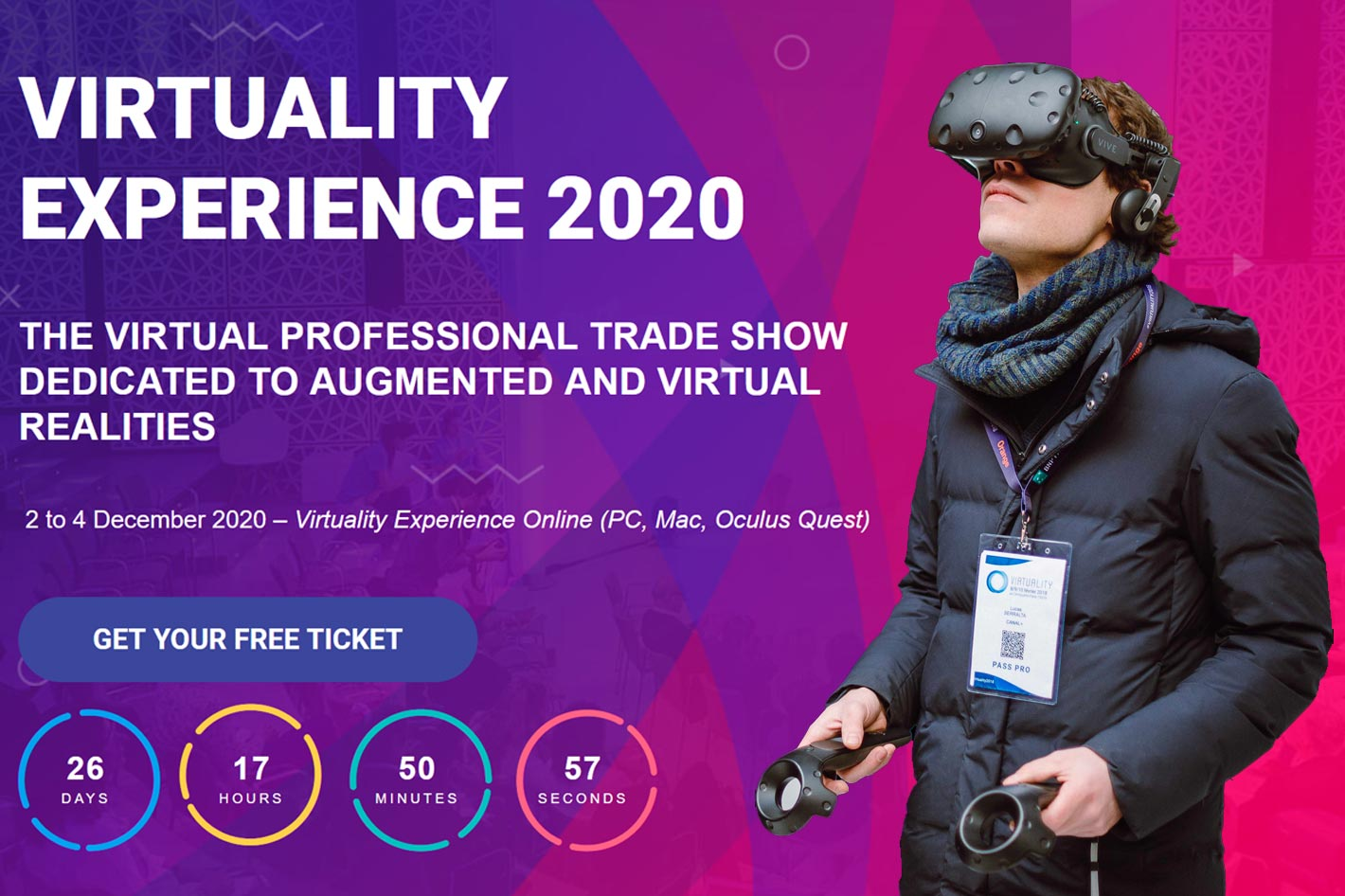 Virtuality to become a complete online event