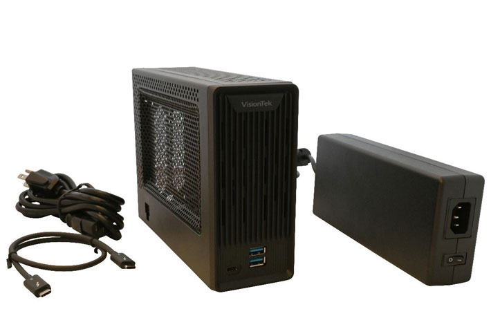 VisionTek introduces a Thunderbolt 3 Mini eGFX at CES 2019