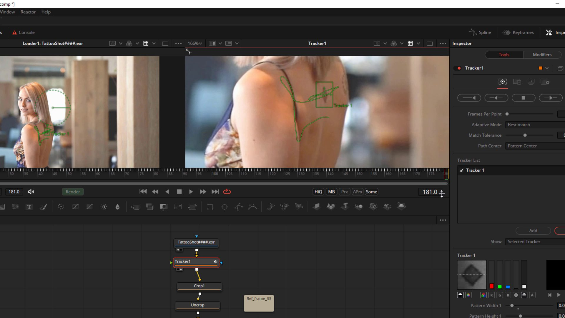 Tattoo Removal from Video Footage 2