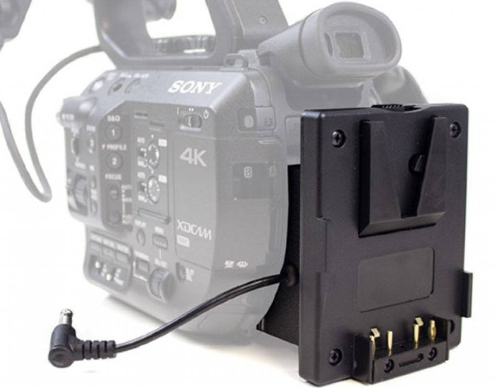 How to fit a Mini V-Lok battery to a Sony FS5