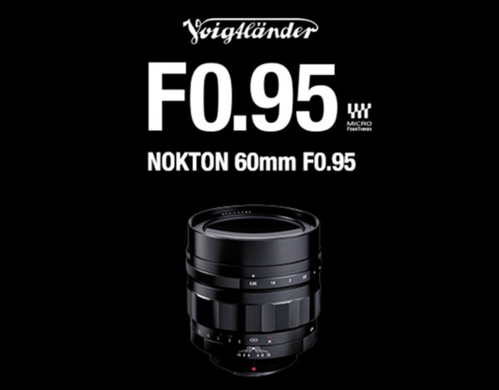 New Voigtlander Nokton 60mm F0.95 lens for Micro Four Thirds videographers