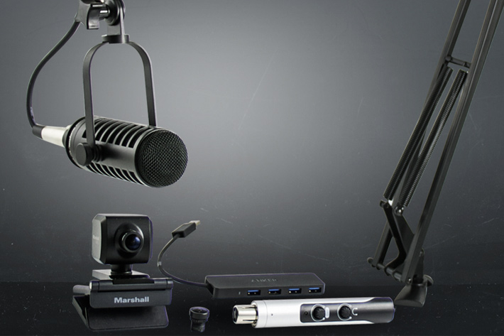 Video Podcasting Station debuts at NAB 2018 by Jose Antunes