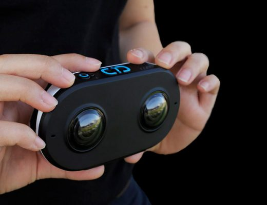 LucidCam, a stereoscopic 3D 180 camera