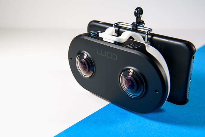 LucidCam, a stereoscopic 3D 180 camera by Jose Antunes
