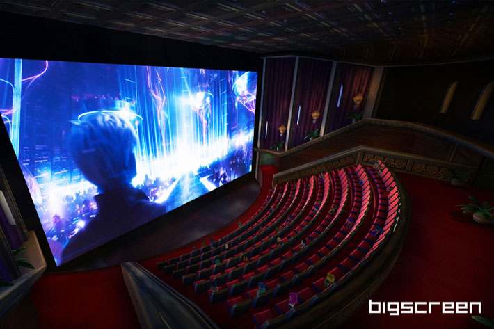 New VR headsets invite you to watch cinema on the big screen