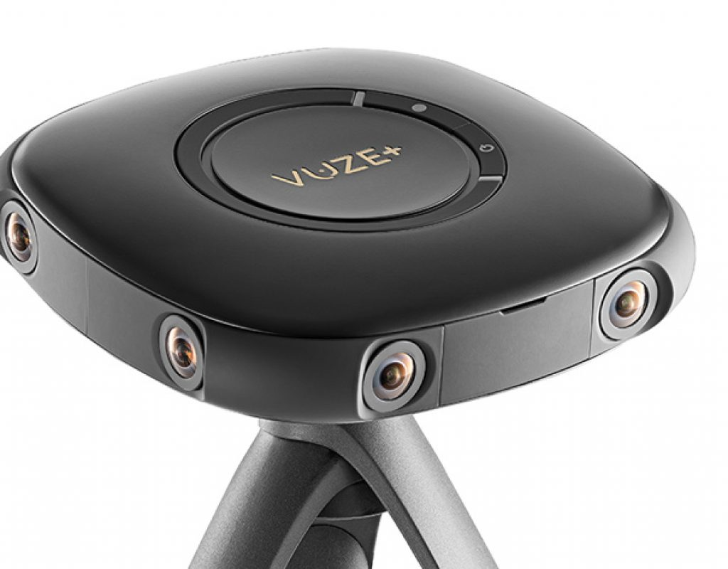 Vuze+ VR camera announced at CES 2018