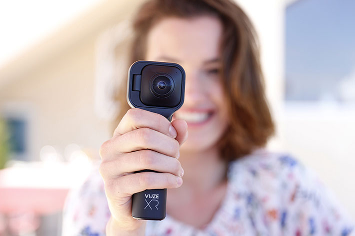 Vuze XR, a camera for 360 or VR180 video