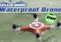 Splash Drone: a Water Loving Quadcopter