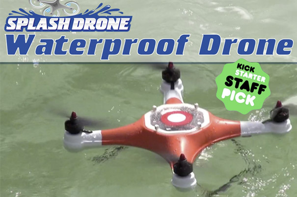 Splash Drone: a Water Loving Quadcopter 3