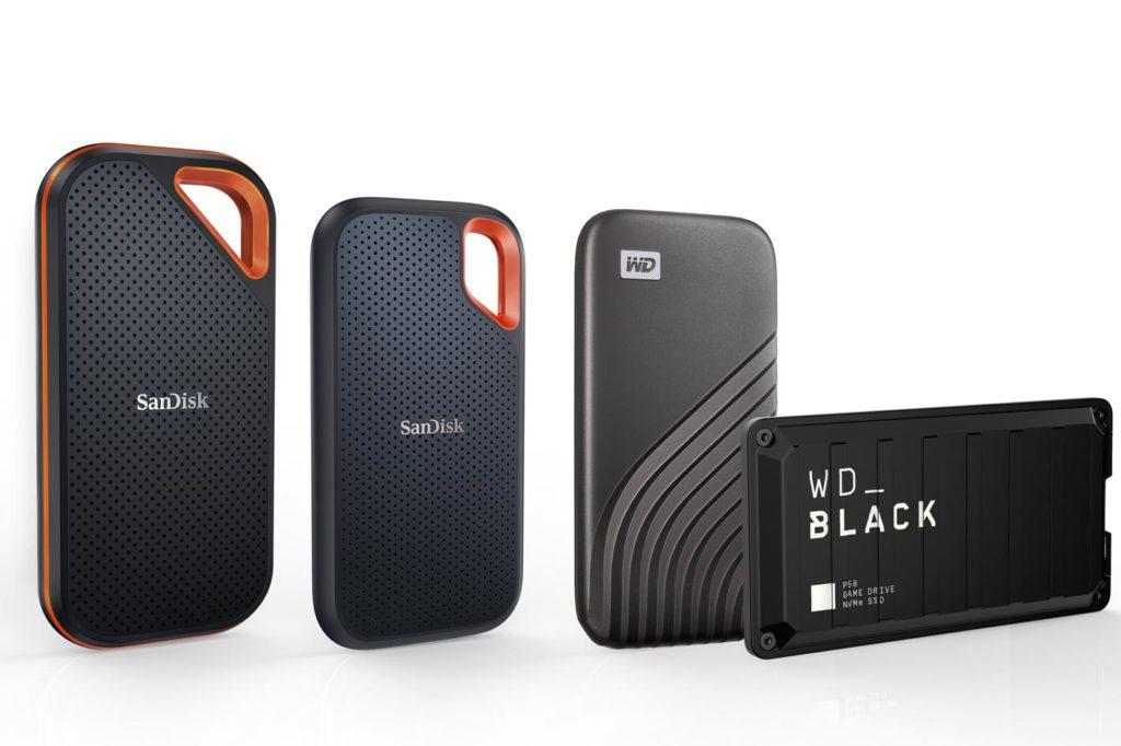 Western Digital: the new 4TB portable SSDs