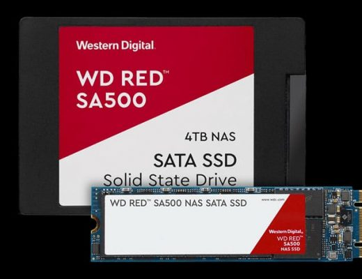 WD Red SA500 SSD: designed for NAS and 4K and 8K video editing