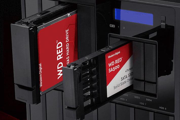 WD Red SA500 SSD: a new SSD, designed for NAS and 4K and 8K video editing 1