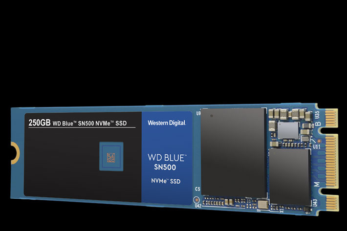 Western Digital: first WD Blue NVMe SSD is three times faster by