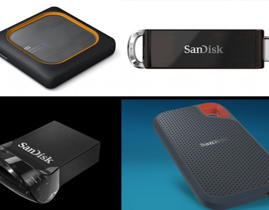 SanDisk: a 1TB Flash Drive and other portable storage solutions at CES 2018