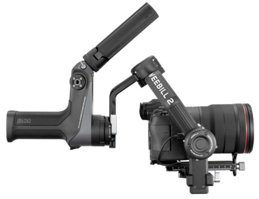 WEEBILL 2: the first gimbal with a touchscreen command centre