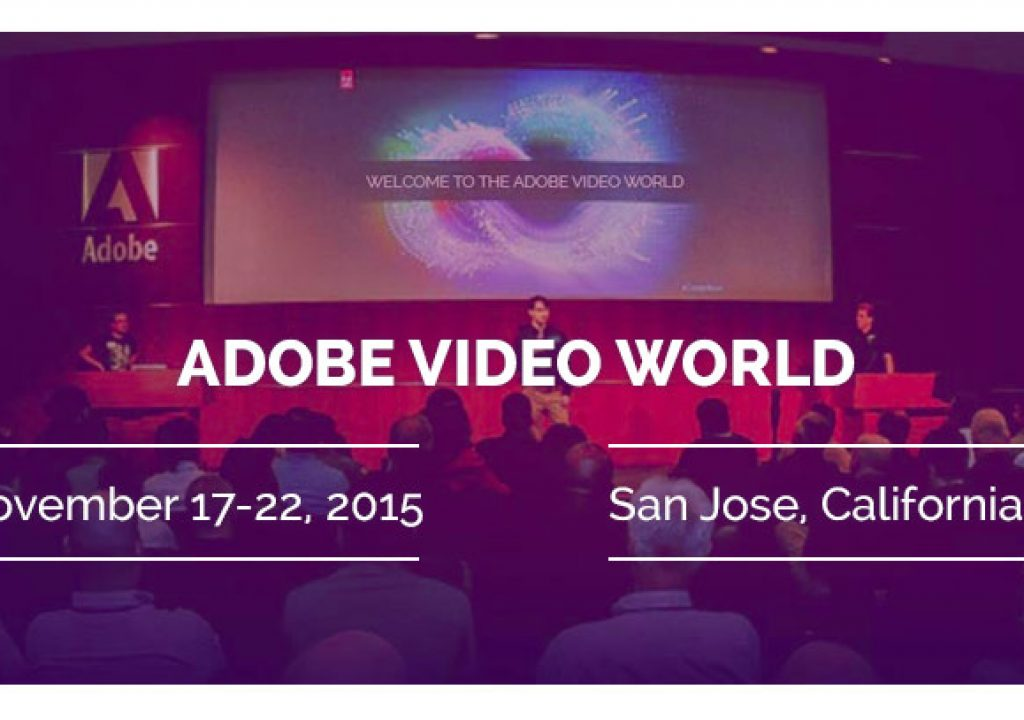 Premiere Bro goes to Adobe Video World 1