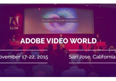 Premiere Bro goes to Adobe Video World