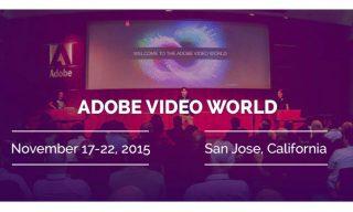 Premiere Bro goes to Adobe Video World