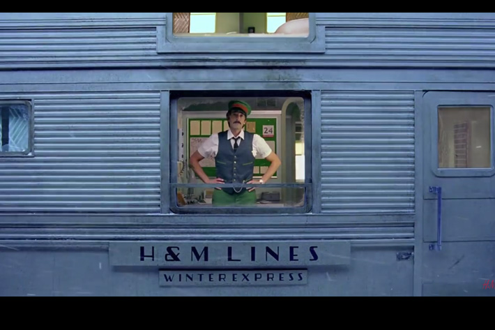 Wes Anderson new film is a H&M advert