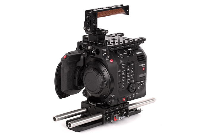 Wooden Camera: new kits and power plates for Canon EOS C500 Mark II 3