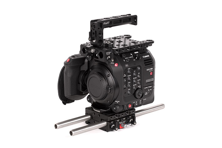 Wooden Camera: new kits and power plates for Canon EOS C500 Mark II 2