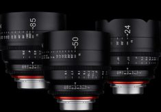 New Cine Lenses from Samyang