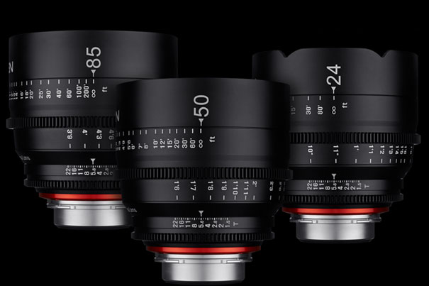 New Cine Lenses from Samyang 1