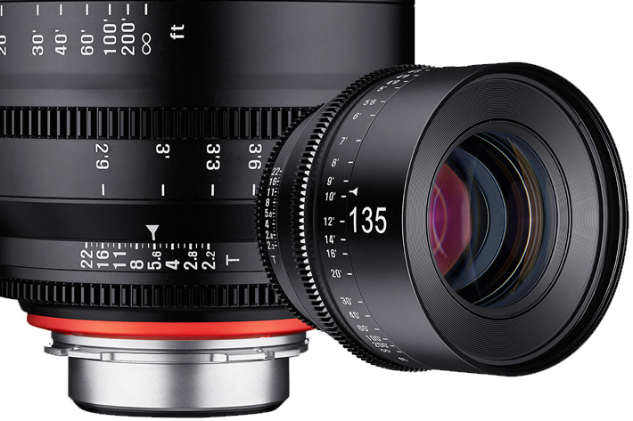 Xeen 135mm T2.2, Samyang's Blockbuster