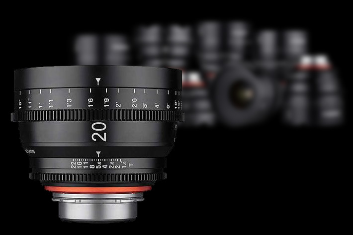 Samyang: new XEEN 20mm T1.9 Cinema Lens