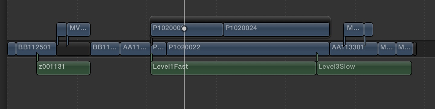 ximport fcpx timeline