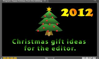 Christmas Gift Ideas for the Editor – 2012 Edition
