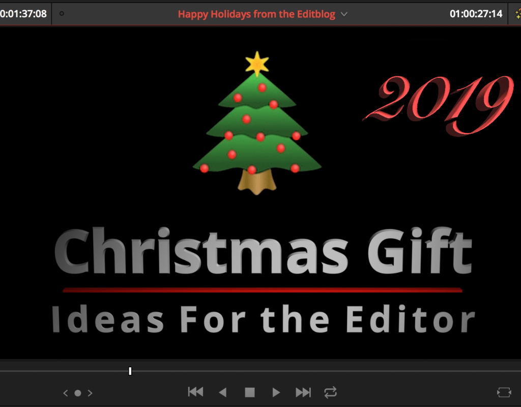 Christmas Gift Ideas for the Editor - 2019, the 10 Year Edition 1