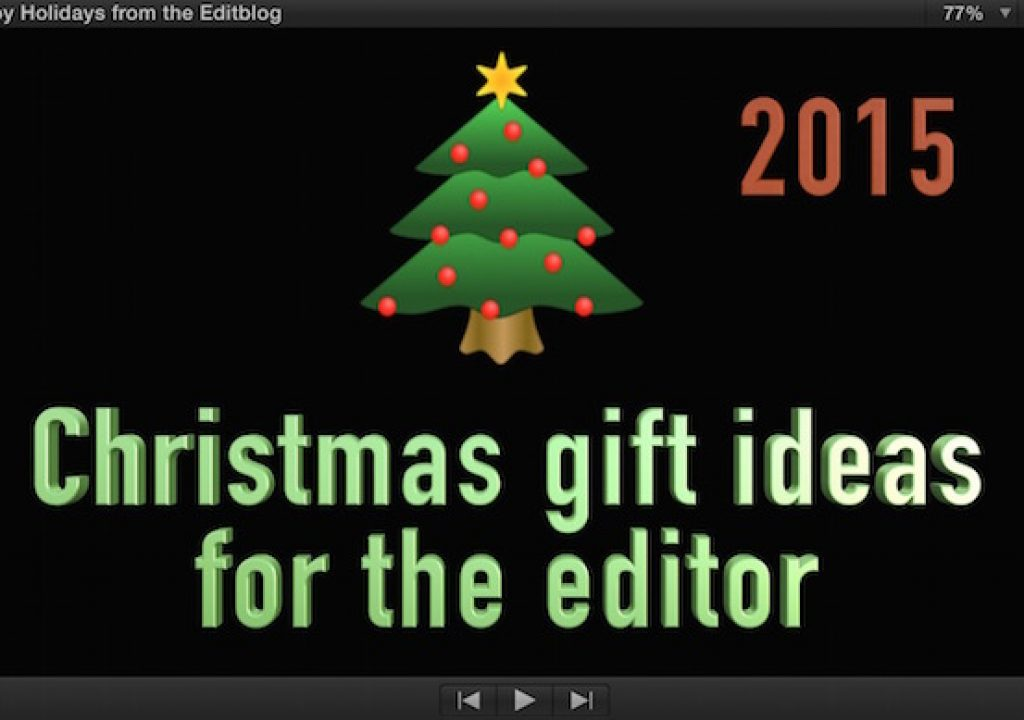 Christmas Gift Ideas for the Editor - 2015 Edition 1