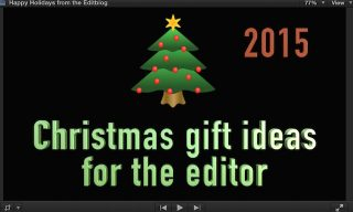 Christmas Gift Ideas for the Editor – 2015 Edition