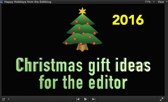 Christmas gift ideas for the editor - 2016 edition 60
