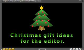 Christmas gift ideas for the editor