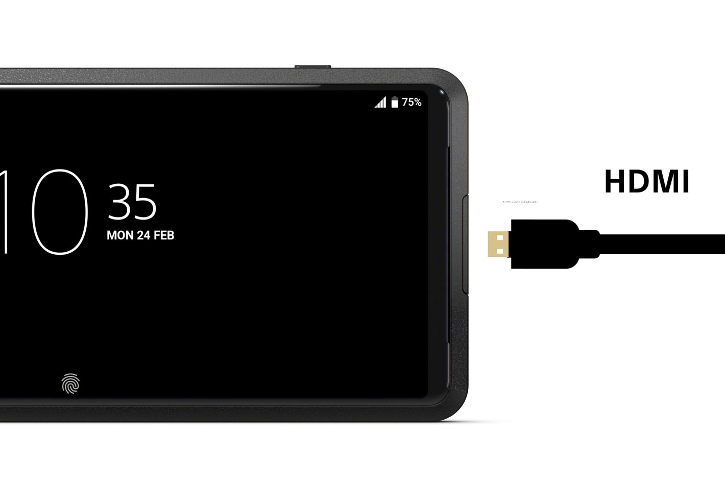 Xperia PRO: world's first smartphone with dedicated HDMI input