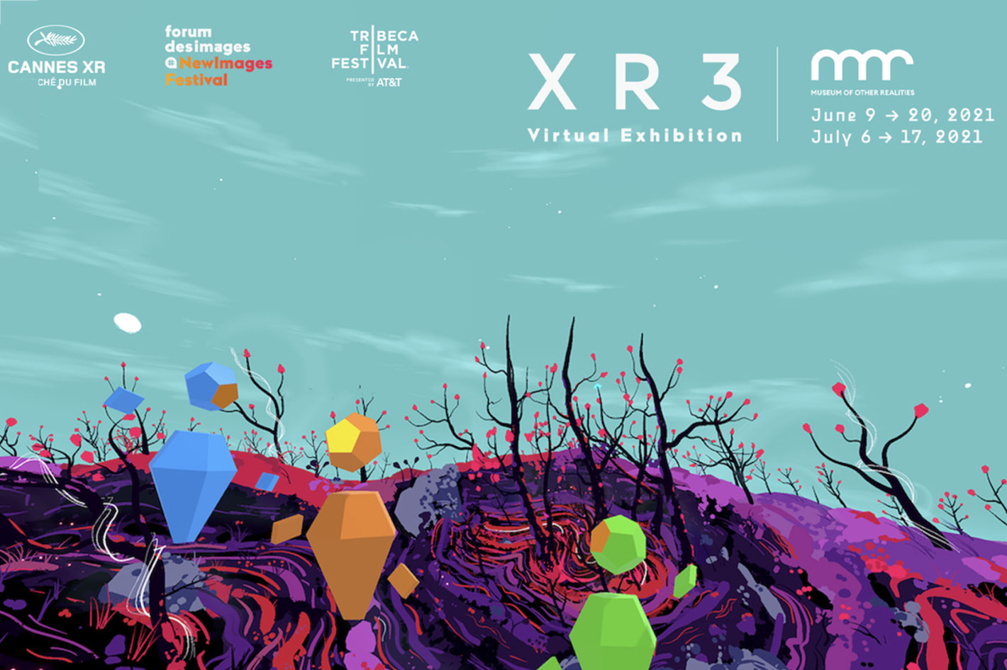 Cannes XR, Tribeca and NewImages festivals open at MOR