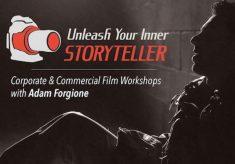 Filmmaker Adam Forgione reveals his secrets to success