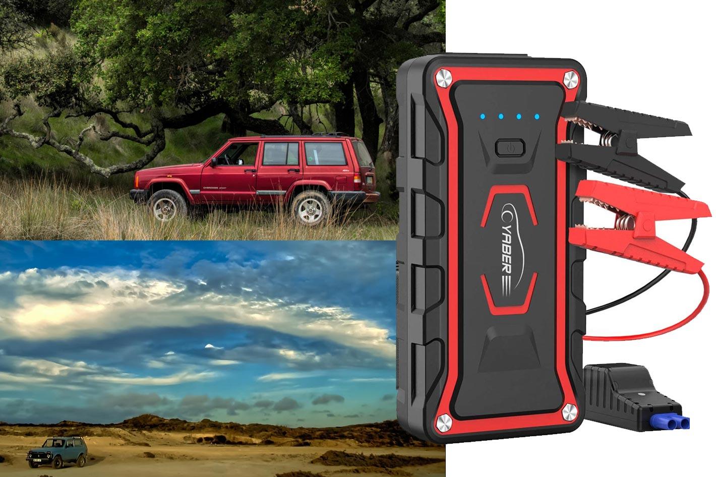 A key accessory for photographers: a car jump starter